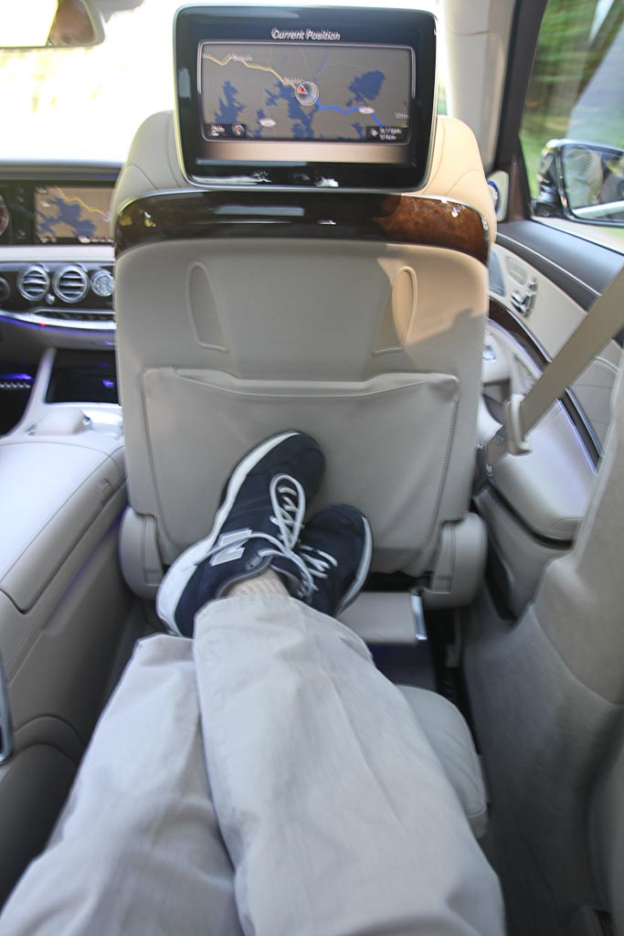 Executive seat 2014 Mercedes-Benz S-Class
